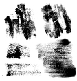 Smears and fingerprints with paint vector image vector image