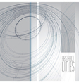 Abstract lines communication and digital te vector image vector image