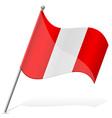 flag of Peru vector image