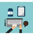health care design vector image