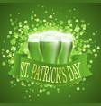 saint patricks day card vector image