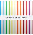 colored stripe vector image