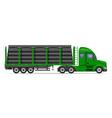 semi truck trailer concept 08 vector image