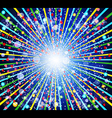 glowing festive background vector image