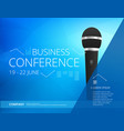 conference template vector image