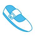 fashion ballet shoe vector image