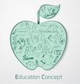Education Doodle Concept vector image