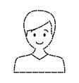 man avatar cartoon vector image
