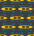 seamless pattern with kayak-2 vector image