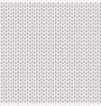 white knitted texture vector image