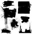 Grunge blocks vector image