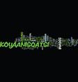 Koyaanisqatsi a nonverbal film by godfrey reggio vector image