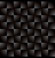 Creative square grey black gradient pattern vector image