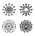 Set of mandalas Vintage decorative elements vector image vector image