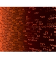 orange security background with HEX-code vector image
