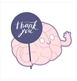 Thank you Brain collection vector image