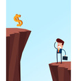 business problem vector image vector image