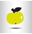 yellow apple vector image