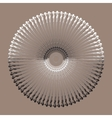 Ethnic mandala Circle ornament art vector image