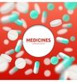 Pills Medical vector image