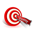 quality concept vector image