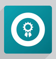 flat achievement icon vector image