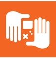 hand Game Console vector image