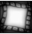Old movie films background vector image vector image