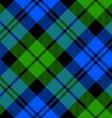 Black Watch milytary tartan diagonal seamless vector image