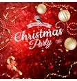 Christmas card EPS 10 vector image vector image