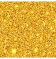Golden sparkles texture EPS 10 vector image vector image