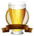 Beer Lable vector image