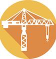 Building Crane Icon vector image