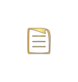 paper document computer symbol vector image