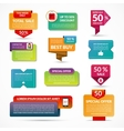 Set of sale banners labels tags vector image