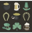 Set of for St Patricks Day vector image