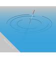 Fishing float vector image