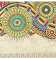 Attractive Ethnic Background Design vector image vector image