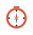 compass navigational instrument direction icon vector image