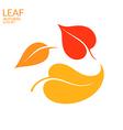 Leaf Autumn vector image