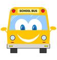 Funny School Bus vector image vector image