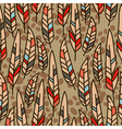 seamless texture with feathers vector image