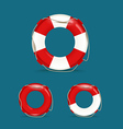 Defferent safety buoy collection vector image