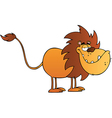 Funny Lion vector image