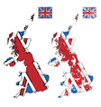 grunge united kingdom vector image