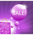 Color Sale Poster vector image vector image
