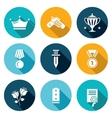 Reward Icons Set vector image