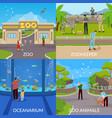 zoo 2x2 design concept vector image