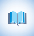 book isolated symbol vector image vector image