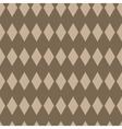 Rhombus geometric seamless pattern vector image